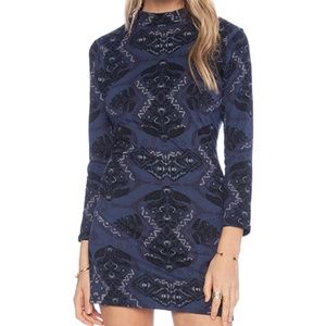 Free People Cute and Cozy Body Con Dress